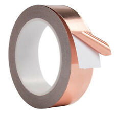 30M Adhesive Conductive Copper Slug Roll Tape Repellent Guitar Pickup EMI Shield