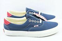 Vans Era 59 Vintage Mens Size 8.5 Indigo Rococco Skate Shoes Blue Red