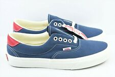 Vans Era 59 Vintage Mens Size 8.5 Indigo Rococco Skate Shoes Blue Red