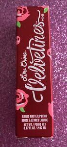 Brand New in box Lime Crime Velvetines mini Liquid Matte Lipstick Red Rose