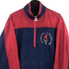 Vintage 90's Starter Atlanta Olympic 1996 Anorak Windbreaker Jacket Size XL