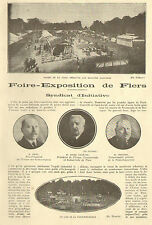 61 FLERS FOIRE EXPOSITION DENIS GUITTIER ARTICLE PRESSE DE HENRI LELIEVRE 1927