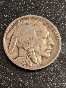 1920-D Denver Mint Buffalo Nickel FINE