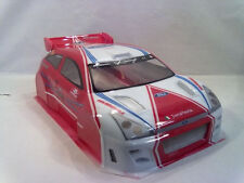 1/8 Ford Focus WRC RC Car Body shell Slash Rally Hyper GTP2e Serpent Cobra 0163
