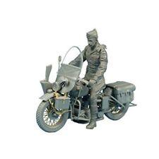 Modellini statici di veicoli militari motociclette plastici Scala 1:35