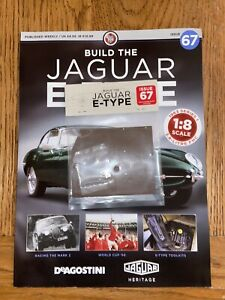 Deagostini Build Your Own 1/8th Jaguar E- type Issue 67