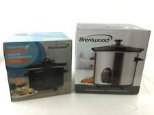Brentwood 1.5 & 3 Quarts Slow Cookers Lot 3235