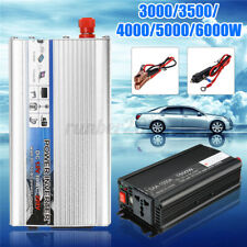 3000W/4000W/5000W/6000W Solar Power Inverter DC12V to AC 220V Car Sine Converter