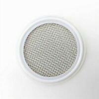 2 in. Tri-Clamp Gasket with Stainless Mesh Screen - Distilling Carbon Filter Gin
