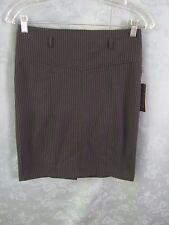 Grass Collection Black Pin Stripe Wiggle Skirt NWT Size 3