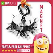 "1.65"" Powerful Fishing Magnet Neodymium Super Strong Hook Retrieving Treasure US"