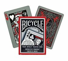 1 New Bicycle Tragic Royalty Playing Cards, Glow under Blacklight Playing Cards