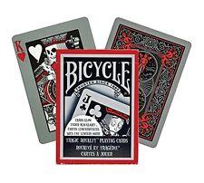 2 New Decks Bicycle Tragic Royalty Playing Card, Glow w/Blacklight Playing Cards