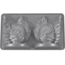Turkey 3D Stand-Up Cake Pan, Platinum Collection, Nordic Ware # 52348 NEW