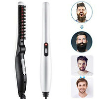 Multifunctional Electric Heated Beard Straightener Comb Brush