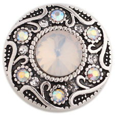 Snap It Button Charm Fits Ginger Snap Style Jewelry *Free Shipping Over $25*