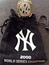 NY YANKEES  STADIUM RING DAY SGA 2000 WORLD SERIES CHAMPIONS MLB BETTERIDGE