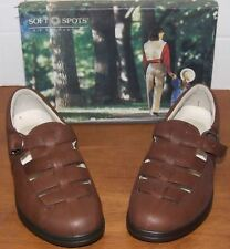 Softspots Matterhorn Brown Leather Loafers 9 M