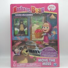 NEW Masha and the Bear board game Move the Mess, brand new in shrink wrap.