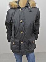 Giubbino WOOLRICH Uomo Taglia Size S Jacket Man Veste Homme Nero Cotone 7653