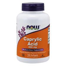 Caprylic Acid Candida Buster Yeast Support 600mg 100 Caps   Coconut Fatty Acid