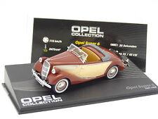 Ixo Presse 1/43 - Opel Super 6 1937 Marron