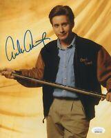 Emilio Estevez Autograph 8x10 Photo The Mighty Ducks Signed JSA COA