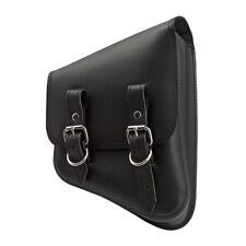 Larosa Sacoche de Selle Cuir pour Harley Softail Cadre Etoiles Noir droite