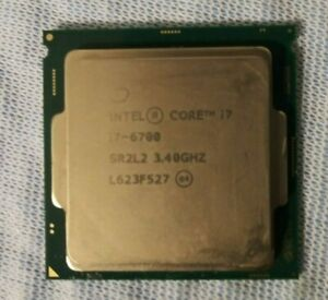 Intel Core i7 6700 3.40GHz Quad Core LGA 1151 Processor CPU 3.4 GHz SR2L2