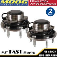 MOOG Wheel Hub & Bearing Pair with ABS for Chevy Silverado 1500 GMC Yukon 2WD