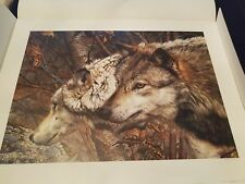 Carl Brenders The Companions  Limited Edition Lithograph 4155/18036 Un-Framed