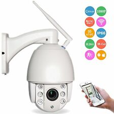 WiFi PTZ IP Dome Camera 4XOptical Zoom 2.8-12mm With SD Onvif Outdoor cctv