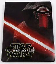 Star Wars The Force Awakens 2016 Steelbook Blu Ray + DVD 3 Disc Complete