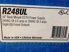 Altronix R248Ul Cctv Rack Mount Power Supply New Old Stock [Ct-A]