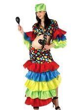 Rumba Dance Womens Costume Adult Spanish Dancer Flamenco Costume Party/Halloween