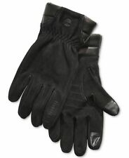 Timberland Men Black Suede Leather Touchscreen Winter Boot Gloves Size M
