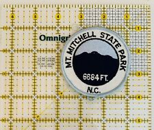 Mt. Mitchell State Park North Carolina Iron On Patch Embroidered