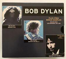 BOB DYLAN ~ Greatest Hits Volumes 1-3 + RARE Bonus Live Disc ~ 5CDs Total ~ NM!