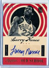 LARRY NANCE - 2013-14 Prestige Old School AUTO #10  - Suns /99