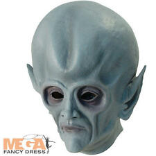 Alien Mask Scifi Supernatural Space Halloween Fancy Dress Adult Costume Masks