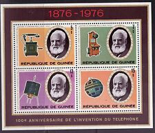Guinea # 723 MNH 1975 Bell telephone SS Inventors