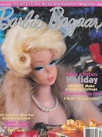 DEC 1998 - BARBIE BAZAAR vintage doll magazine