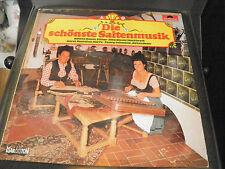 die schönste Saitenmusik - Alfons Bauer, rita Bauer - disque polydor 2418 610