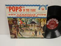 "THE CARNEGIE POPS ""Pops"" In The Park LP Columbia HL 7113 Vinyl Record Album"
