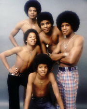 The Jackson 5 Topless 10x8 Photo