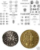 DVD 388 livres monnaies jetones France royale féodale Napoleon ecu denier teston