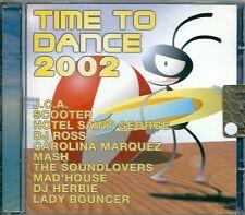 TIME TO DANCE 2002 -  CD ( OTTIME CONDIZIONI )