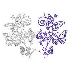 Butterfly Flower Metal Cutting Dies Stencil Scrapbooking Card Paper Embossing