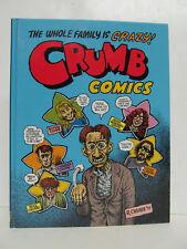 ROBERT CRUMB - Crumb Family Comics - HARDCOVER 1998 - Last Gasp - Comix - FINE!!