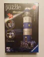 New Ravensburger Lighthouse - Night Edition - 3D Puzzle